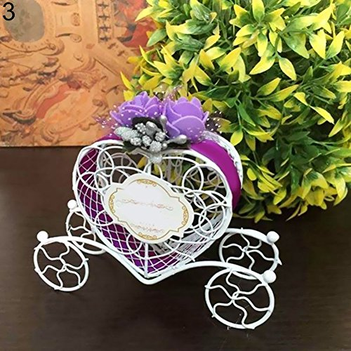 hwangli Heart Shape Gift Box Couch Sweets Chocolate Candy Box Wedding Party Favours Purple