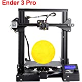 "Creality 3D Printer Ender 3 Pro Upgrade Cmagnet Build Surface Plate, MK-10 Parent Nozzle, UL Certified Power Supply 8.6"" x 8.6"" x 9.8"""