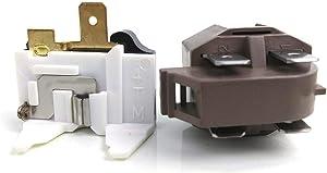 4387913 refrigerator/freezer overload relay kit for Whirlpool, Frigidaire, GE, KitchenAid, LG, Magic Chef. 4387913 7020935 4387766 4387836