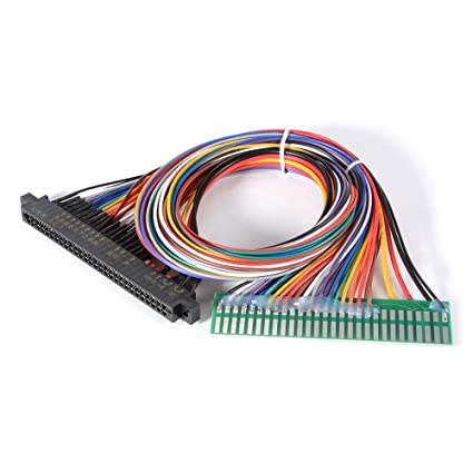 XCSOURCE Extension Wiring Harness DIY Extend 28pin Cable for Jamma on