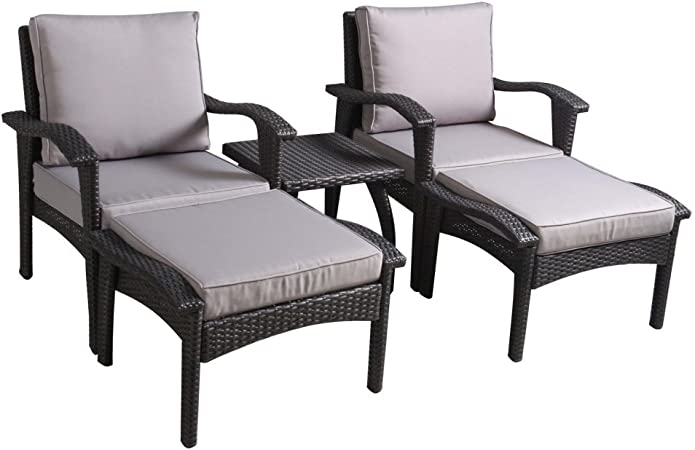 Amazon.com : Best Selling Home Decor Furniture Leslie 5 Piece