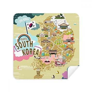 Südkorea Karte.Diythinker Südkorea Karte Amazon De Elektronik