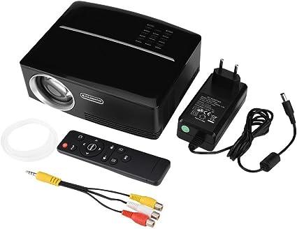 GOTOTOP Proyector de Cine portátil LED Mini Soporte 4K x 2K Ultra ...