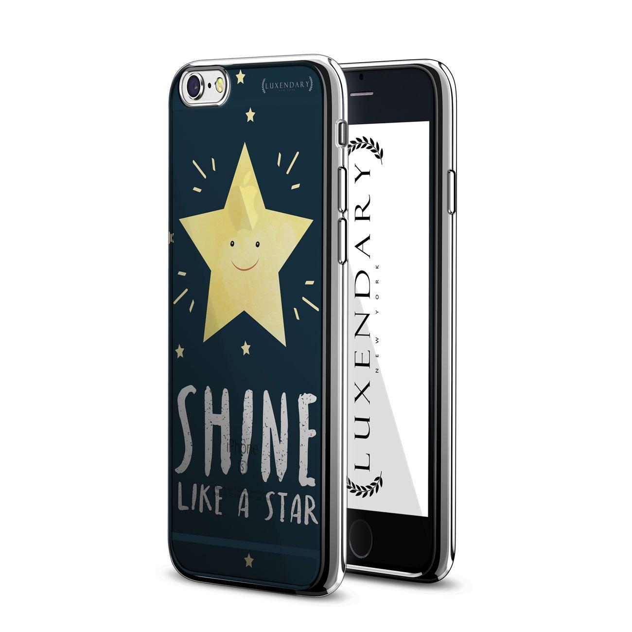 LUXENDARY星のように輝くデザインChromeシリーズCASE iPhone 6 / 6S   B01N0U0M35
