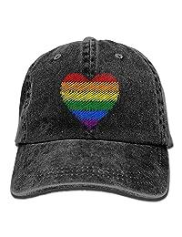 Six-color Rainbow Gay Pride Adult Outdoor Cowboy Cap