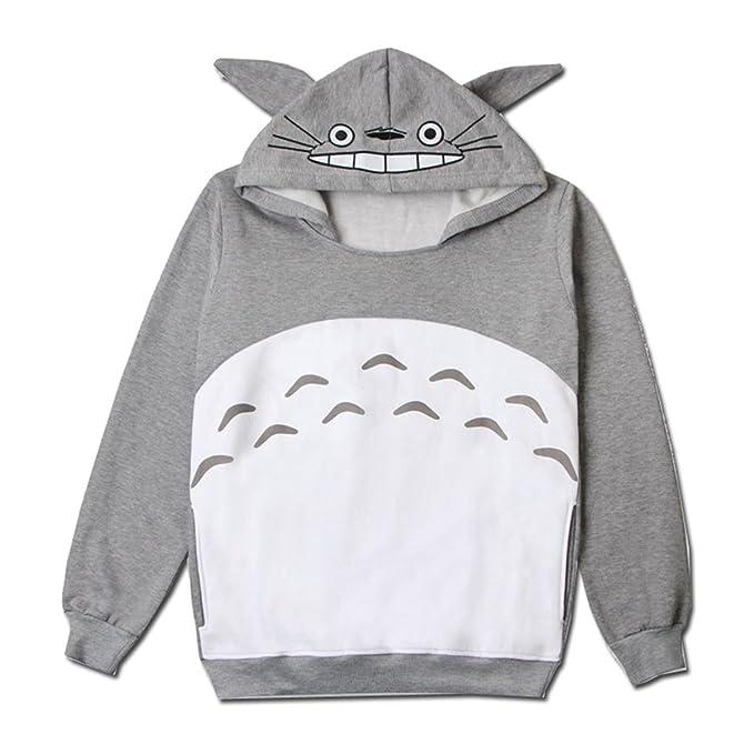 c2a32ee3c Men Women Couples Totoro Print Hoodie Sweatshirt Teen Sweater Pullover Tops