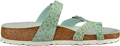 Birkenstock Mayari Sandals 9 B(M) US Women / 7 D(M) US Metallic Stones Aqua
