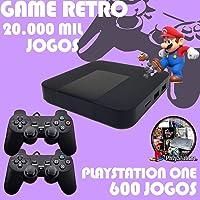 Vídeo Game Retro 20.000 Jogos + 2 Controles + 600 Jogos PS1