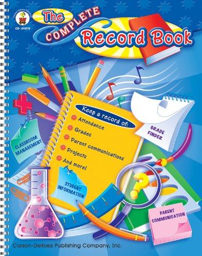 Carson Dellosa The Complete Record Book Record/Plan Book (104070)