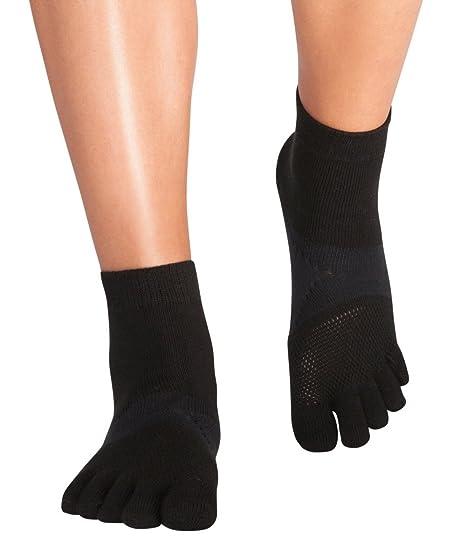 Knitido Marathon TS | Calcetines deportivos de tobillo alto con dedos, Talla:35-