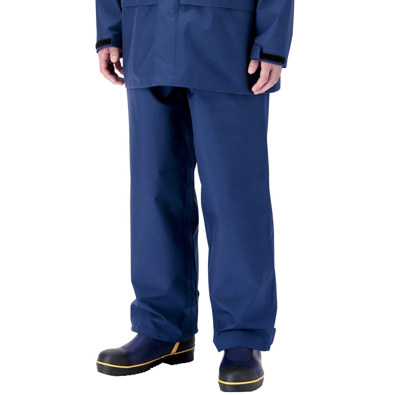 ミドリ安全 雨衣 レインベルデN(R) ゴアテックス(R) 帯電防止仕様 下衣 B01JHIRBUW LL