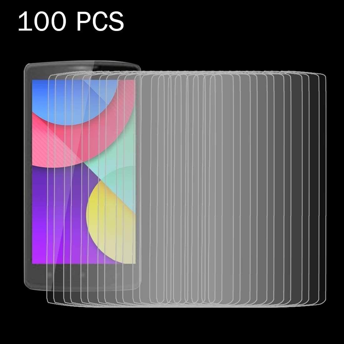 Ruanmaoshi Mobile Accessories 100 PCS for Lenovo A2010 0.26mm 9H Surface Hardness 2.5D Explosion-Proof Tempered Glass Screen Film Phone Products