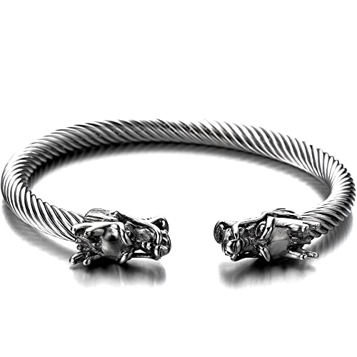 bracelet david normal sculpted silver product yurman bangle bangles metallic cable lyst jewelry in