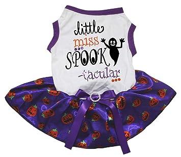 593fbb413 Petitebella Halloween Little Miss Spook Tacular White Shirt Tutu ...