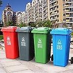 WZP-K-Cubo-de-Basura-Cubo-de-Basura-para-Exteriores-Logotipo-de-Reciclaje-de-ClasificacioN-Grueso-Y-Duradero-Cubo-de-Basura-Grande-de-240-L-con-Tapa-Y-Ruedas-LateralesNegro-120L