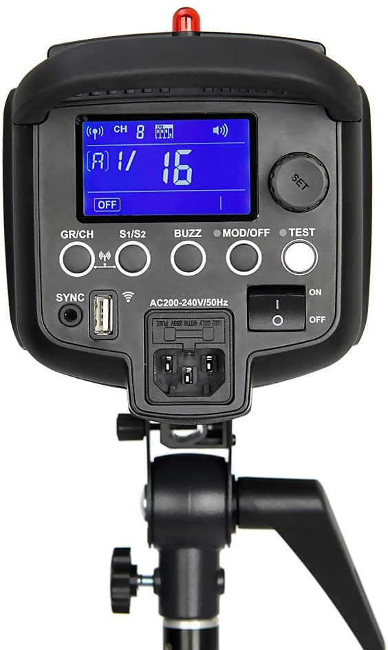 Softbox Godox 1800W 3X DP600II 600W GN80 high-Power Flash Light kit with Xpro-N Trigger Barn Door Light Stand 110V Reflector Board