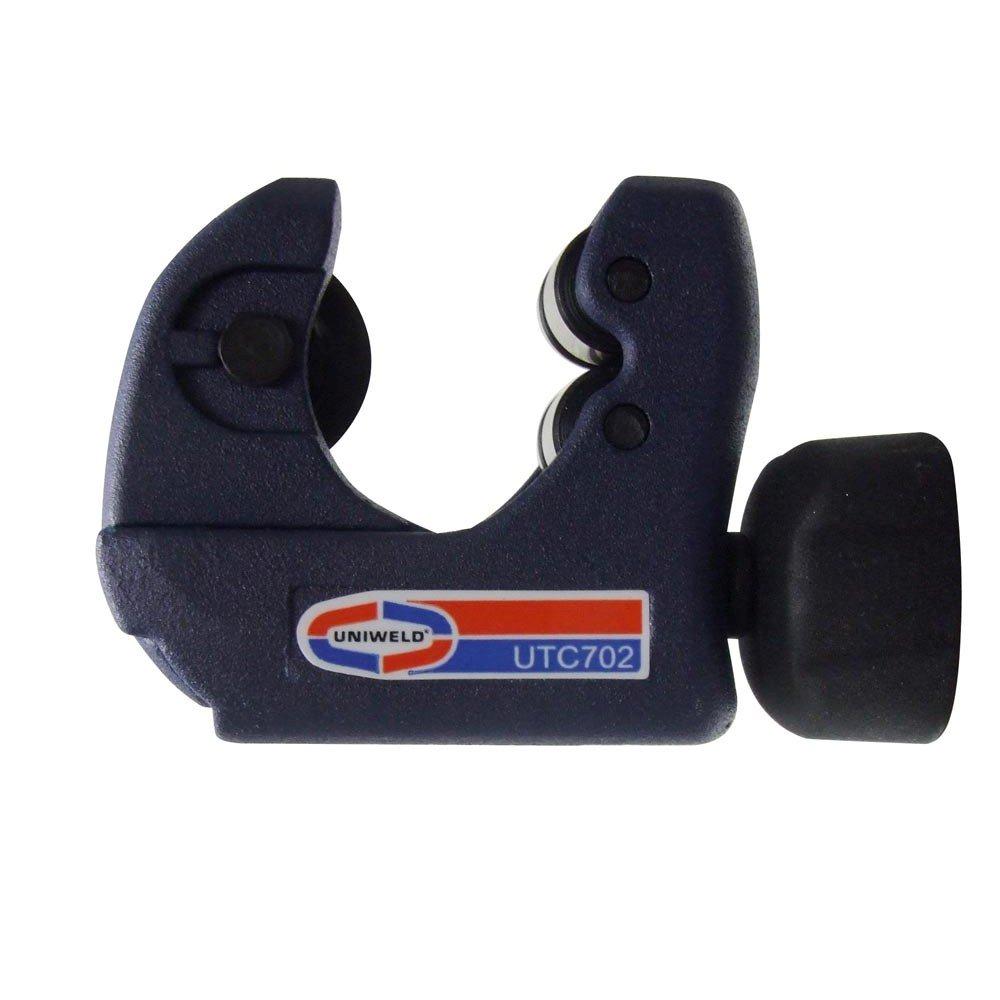Uniweld UTC702 Premium Tubing Cutter Cuts 1/8 Inch to 1-1/8 Inch O.D. Copper, Brass, and Aluminum Tubing