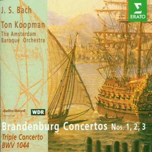 Brandenburg Concerti Long Beach Mall 1-3 2021 spring and summer new Concerto Triple