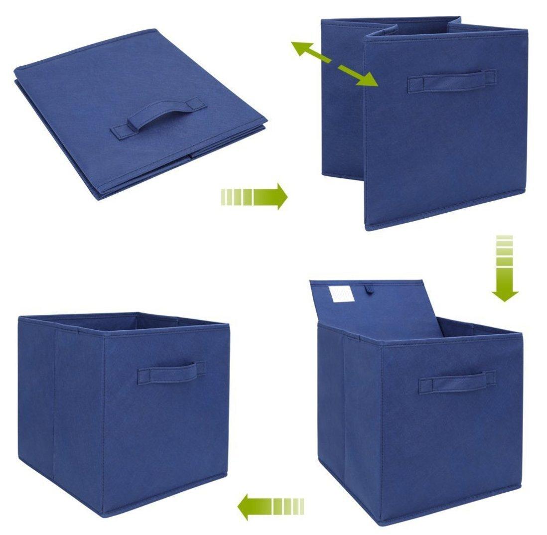 c97939bab46 Cesto de almacenamiento plegable DingSheng  caja organizadora de tela para  ropa interior