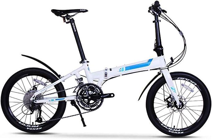 S.N S Bicicleta de montaña Plegable Aleación de Aluminio Cambio Bicicleta Plegable Hombres y Mujeres Adultos Negro 20 Pulgadas 27 Velocidad: Amazon.es: Productos para mascotas