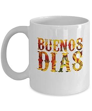 Amazonde Guten Morgen Becher Buenos Dias Geschenke En
