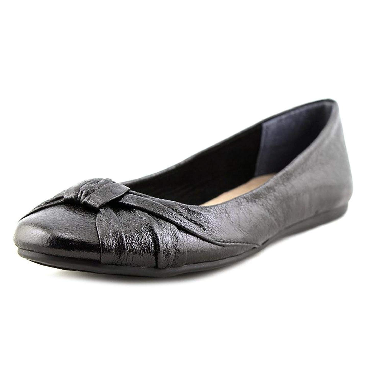 Style & Co. Womens Audreyy Round Toe Ballet Flats, Black, Size 5.0