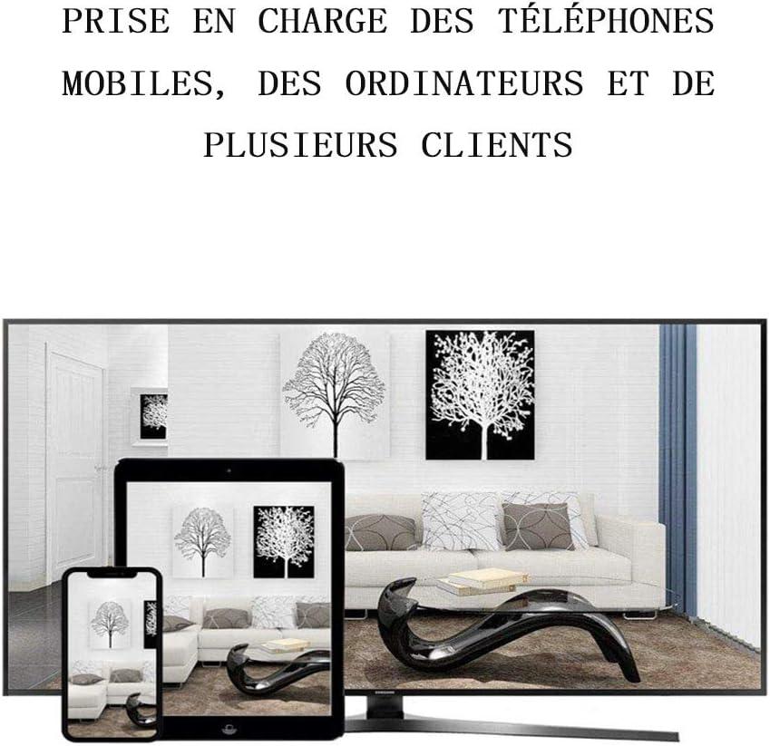 Moniteur B/éb/é Veilleuse Communication Bidirectionnelle Babyphone Vid/éo Cam/éra Surveillance Num/érique Sans Fil Vision Nocturne Rechargeable Berceuses Affichage de la Temp/érature