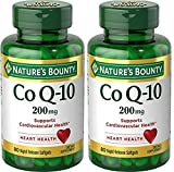 #5: Nature's Bounty Co Q-10 200 mg, 80 Rapid Release Softgels (Pack of 2)