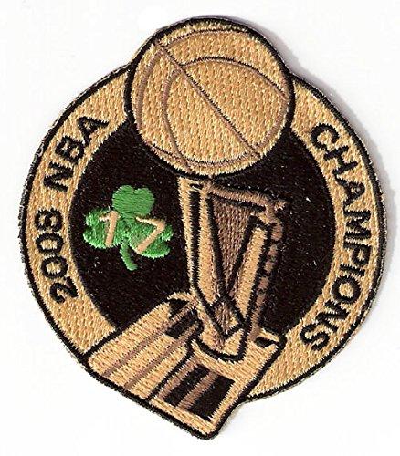 (2008 NBA 17th Champions Patch Boston Celtics)
