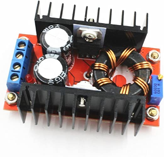 ANGEEK 100 W Voltaje 10-32 V a 60-97 V Boost Converter DC-DC Step-Up Adjustable Power