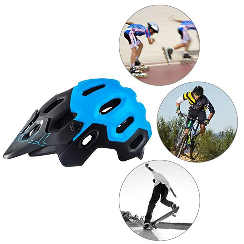 Amazon.com: CTRICKER Mountain DH Casco de ciclismo MTB Down ...