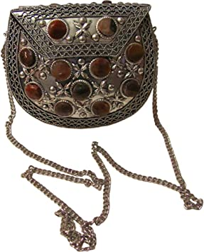 Vintage Silver Purse from India