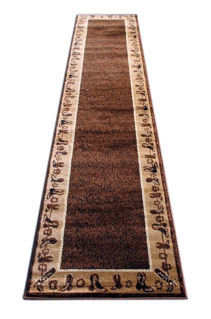 Cowboy Runner Area Rug Design L 375 (2 Feet 4 Inch X 10 Feet 9 Inch) Runner