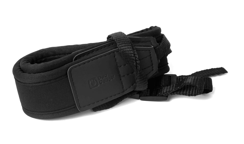 DURAGADGET Correa De Cuello Ligera Ajustable Para La Cámara Sony DSC-HX400 / HX400V - De Color Negro