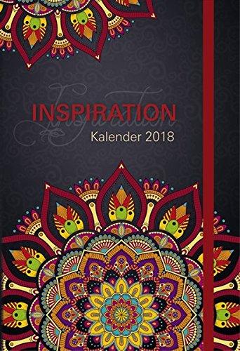Inspiration Kalender 2018: Taschenkalender mit Lesebändchen und Gummiband