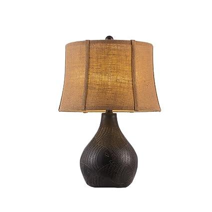 AJZGFLámpara Creativa Nórdica Lámpara de Mesa - Elegante ...