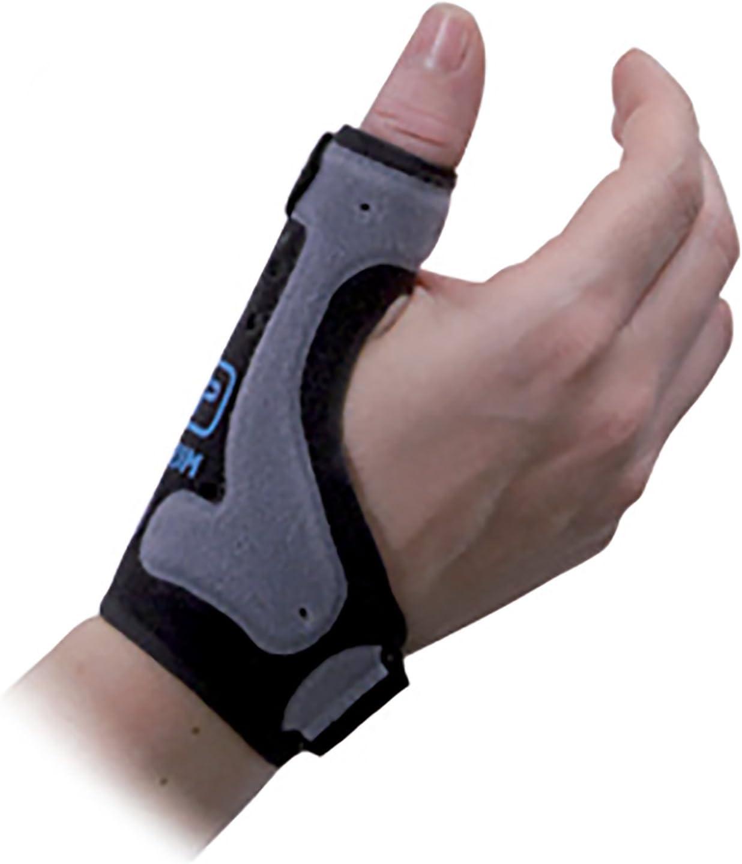 Armed - Muñequera con soporte del pulgar (para osteoartritis pulgar, rizartrosis del pulgar, lesiones del pulgar, síndrome de túnel carpiano y tendonitis pulgar) Disponible en 2 tallas y en beige o gr