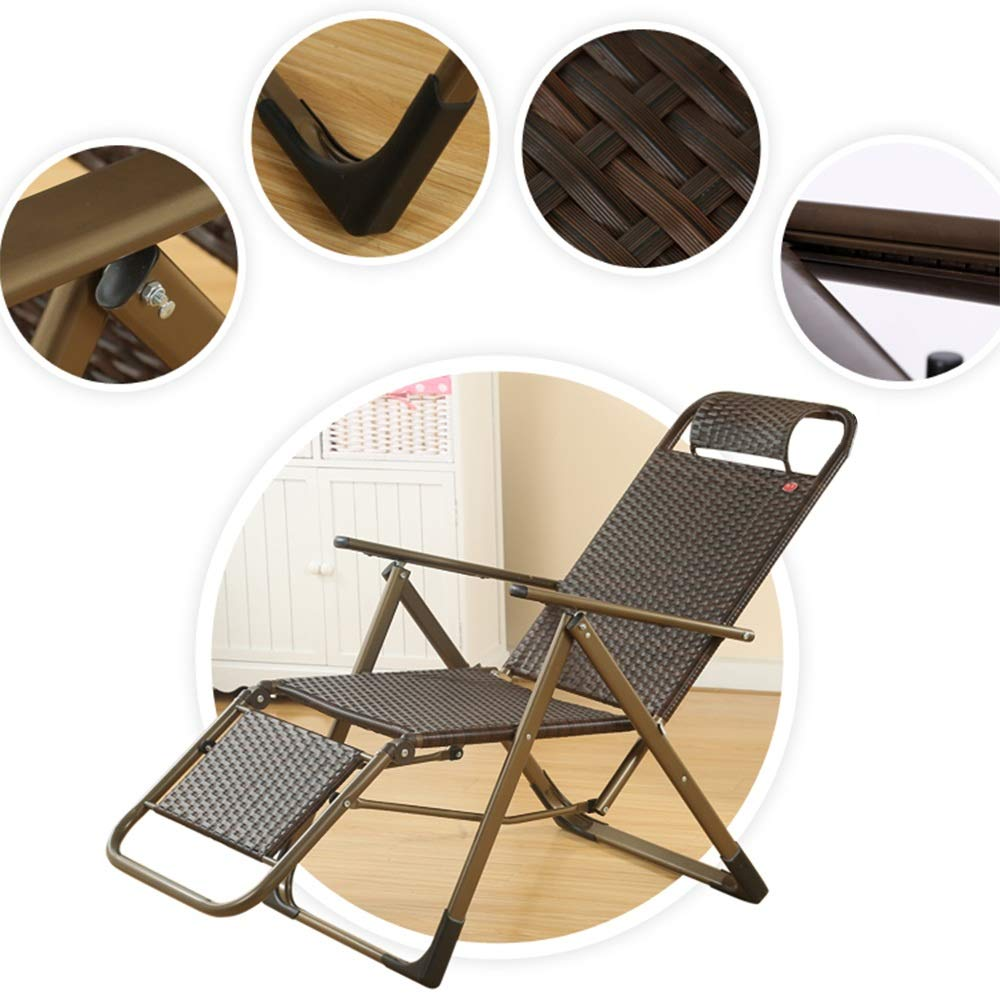 Amazon.com: MEIDUO - Tumbona reclinable plegable con ...