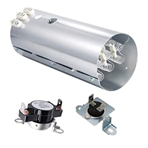 Ecumfy 134792700 & 137032600 & 3204267 Dryer Heating Element Kit Compatible with Frigidaire Electrolux Dryers Replaces PS2349309 AP4368653 AP4456656 AP213147 PS2349395
