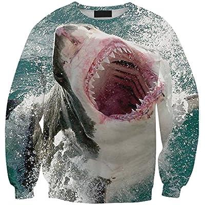 Womens Great White Shark Pullover