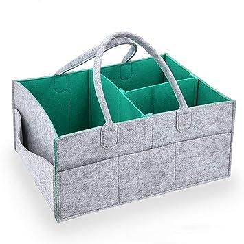 Boxes & Storage Beautiful Unisex Baby Diaper Caddy Nursery Tote Organizer Nursery Décor