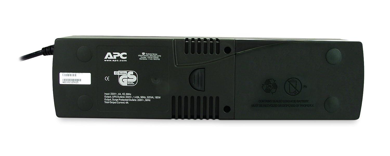 Sistema de Alimentaci/ón Ininterrumpida SAI, 325VA Battery Backup APC SurgeArrest Color Negro