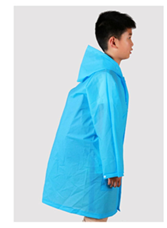 74a469644 Amazon.com  Yiluweinir Kids Raincoat With 2 Pockets Girl Boy ...