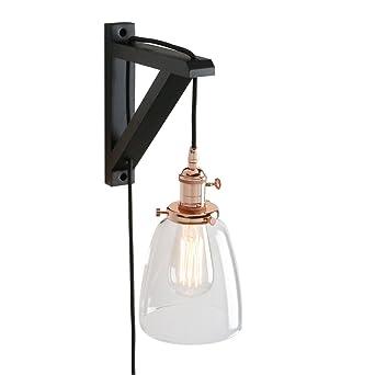 Lampe Industrielle Pathson Avec Applique Vintage Garniture Et Murale Y6vIb7mgfy