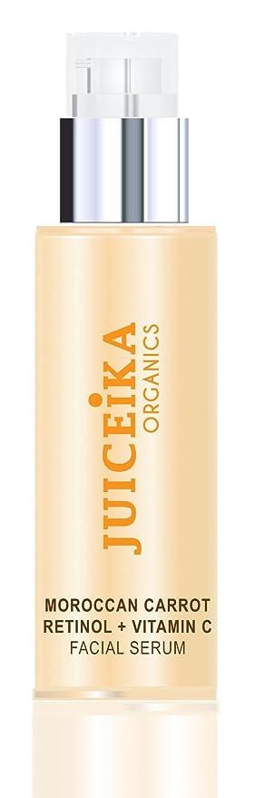 Cara Serum Marrakech kkanischen zanahoria + retinol + Vitamina C (Reiner bio de zanahoria Zumo