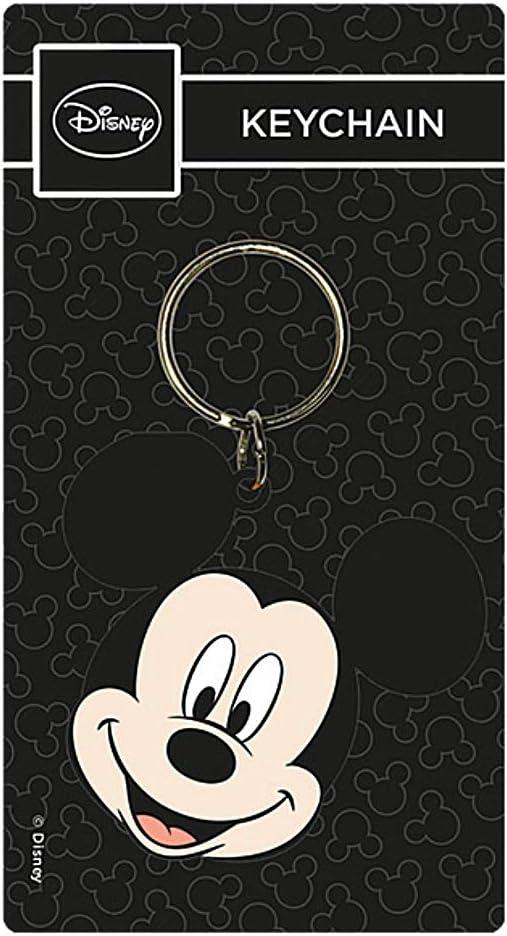 Porte-cl/és en Caoutchouc en Forme de t/ête de Mickey