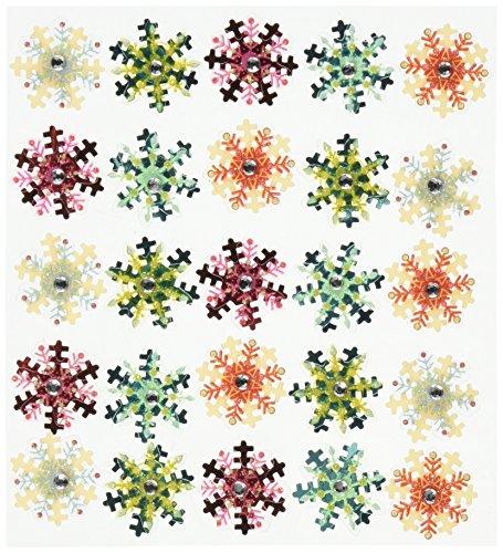 Jolee's Boutique Dimensional Stickers, Snowflake Mini Repeats