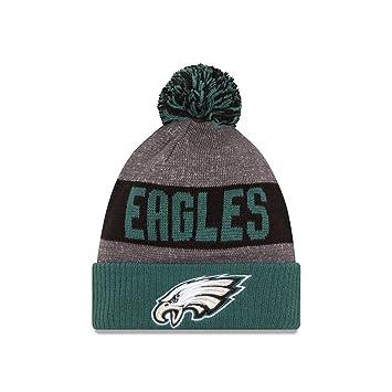 d7cbafe22e1 Philadelphia Eagles New Era 2016 Sideline On Field Sport Knit Hat - Green  Cuff