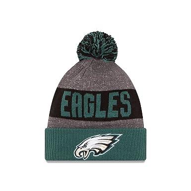New Era Men s Philadelphia Eagles 2016 Sideline Sport Knit Hat Heather Grey  Size One Size 3e2d44dbfe2