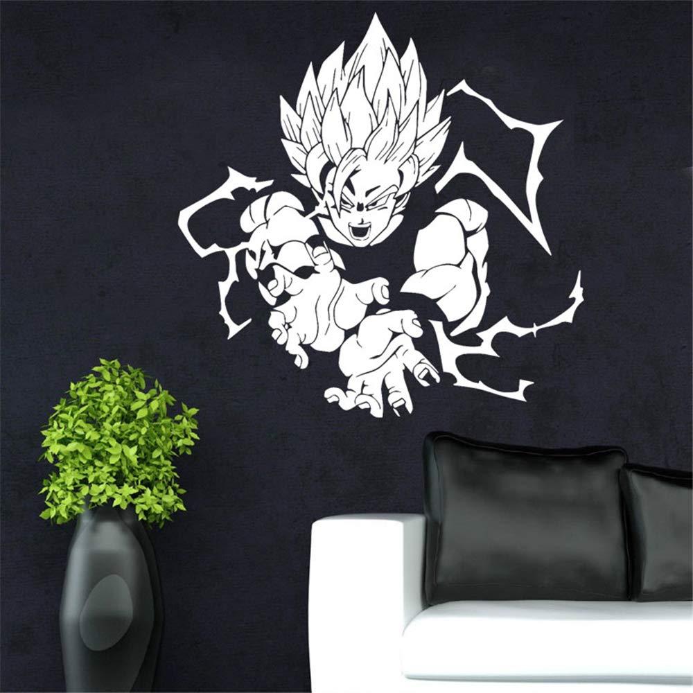 Dragon Ball tatuajes de pared Super Saiyan vinilo tatuajes de ...